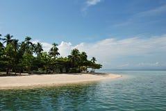 Plage tropicale d'île Photos stock