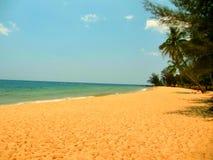 Plage tropicale d'île Image stock