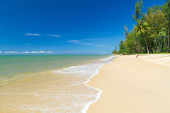 Plage tropicale d'île de Kho Khao de KOH Image stock