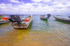 Plage tropicale de la Thaïlande, Patong Phuket Photographie stock libre de droits