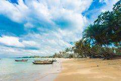 Plage tropicale de la Thaïlande, Patong Phuket Images libres de droits