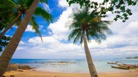 Plage tropicale de la Thaïlande, Patong Phuket Image libre de droits