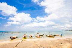 Plage tropicale de la Thaïlande, Patong Phuket Photo libre de droits