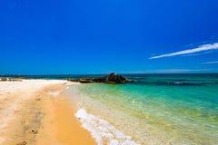 Plage tropicale de paradis photos libres de droits