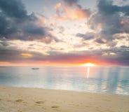 Plage tropicale de Sandy Images libres de droits