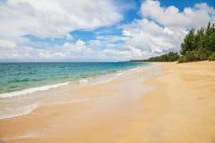 Plage tropicale exotique Photo libre de droits