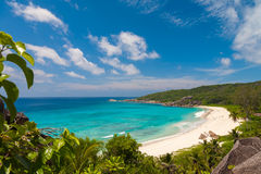Plage tropicale exquise Image stock