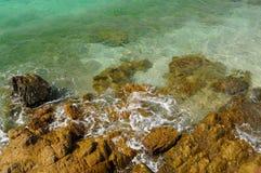 Plage tropicale Fond de nature Photos stock