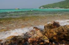 Plage tropicale Fond de nature Photographie stock