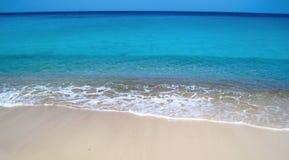 Plage tropicale, horizontale Photo stock