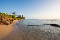 Plage tropicale Oahu Hawaï de paradis photographie stock libre de droits