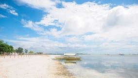 Plage tropicale paisible Image libre de droits