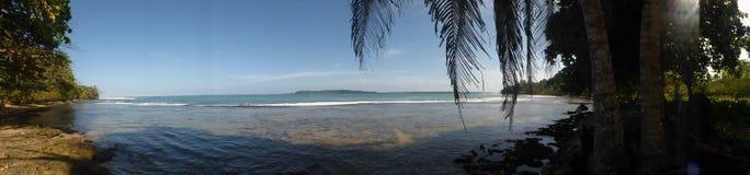 Plage tropicale, Panama Photo libre de droits