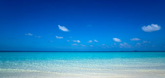 Plage tropicale parfaite de paradis d'île Photos libres de droits