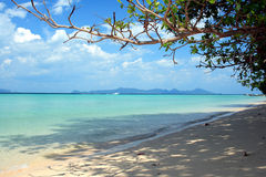Plage V d'Andaman Photo stock