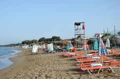 Plage vide Photos stock