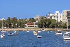 Plage virile, Sydney, Australie Images stock