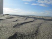 Plage, Zandvoort, Pays-Bas Image libre de droits