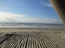 Plage, Zandvoort, Pays-Bas Photo libre de droits