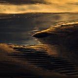 Plages déchirées de sable Photographie stock libre de droits