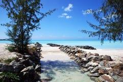 plages de l'Antigua Image libre de droits