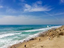 Plages de la Californie du sud Photos stock