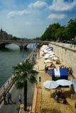 Plages 2014 de Paris Image libre de droits