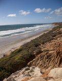 Plages de San Diego County Photo stock