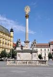 Plague Column, City Brno, Czech Republic, Europe Stock Photography