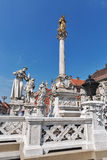 Plague Column in Maribor, Slovenia royalty free stock photography