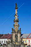 Plague column in Policka Stock Photography