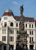Plague column, Teplice Royalty Free Stock Photo