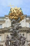 Plague column in Vienna Royalty Free Stock Photos