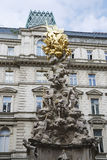 Plague Column In Vienna Stock Photos