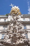 Plague Column in Vienna, Austria Royalty Free Stock Image
