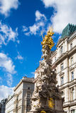 Plague column in Vienna Stock Images
