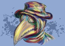 Plague doctor Royalty Free Stock Image