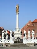 Plague Memorial, Maribor. A memorial on the Main Square of Maribor Royalty Free Stock Photos