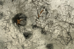 Plague and pestilence organic splatter background Stock Photography