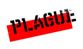 Plague rubber stamp Royalty Free Stock Photography