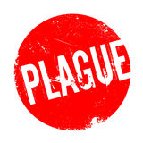 Plague rubber stamp Royalty Free Stock Image