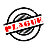 Plague rubber stamp Royalty Free Stock Images