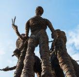 Plague statue from Maribor stock image
