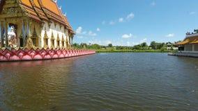 Plai laem temple complex on koh samui.  stock video footage