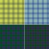 Plaid écossais abstrait Image libre de droits