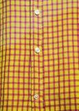 plaid πουκάμισο πώλησης Στοκ εικόνα με δικαίωμα ελεύθερης χρήσης