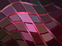 Plaid. Stylized pink plaid in fractal design vector illustration
