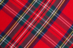 Plaid Photographie stock libre de droits