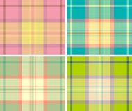 Plaid Royalty-vrije Illustratie