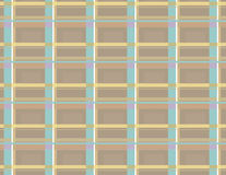 Plaid 5. Pastel plaid study stock illustration